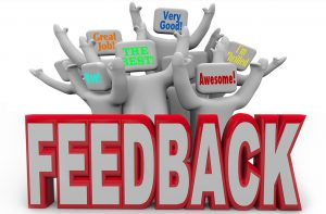Drop ship supplier feedback