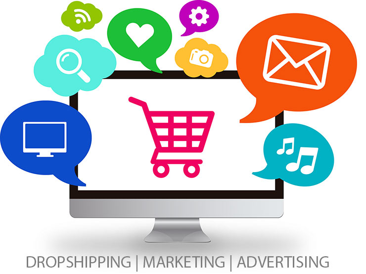 Dropship business marketing and advertising